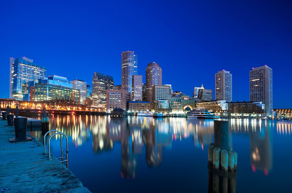 Boston City Waterfront