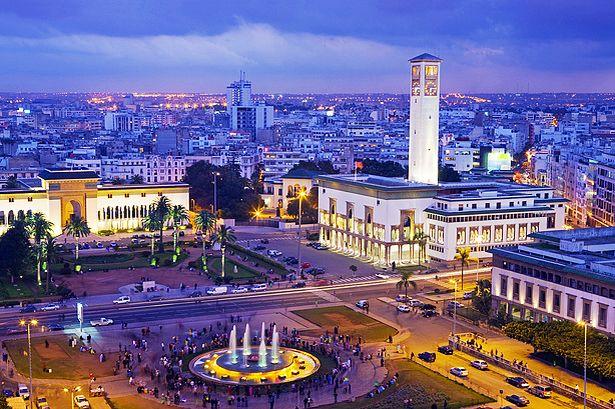 Casablanca's Centre