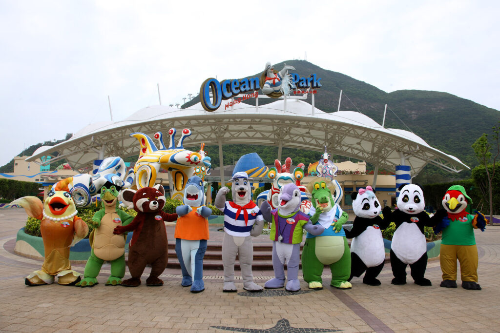 Ocean Park Hong Kong Entrance